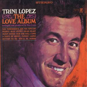 Cover - Trini Lopez: Love Album, The