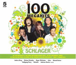 Cover - Achim Petry: 100 Megahits Schlager