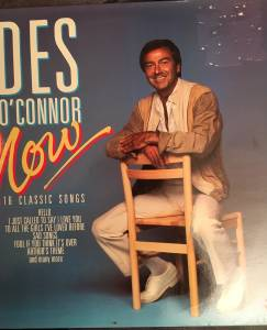 Cover - Des O'Connor: Now