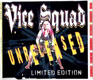 Cover - Vice Squad: Unreleased