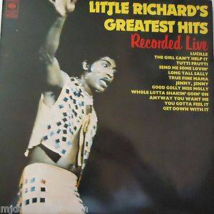 Cover - Little Richard: Greatest Hits, Recorded Live