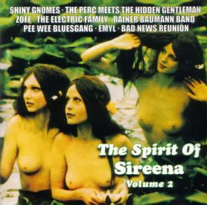 Spirit Of Sireena Vol. 2, The - Cover