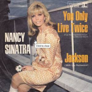 Cover - Nancy Sinatra & Lee Hazlewood: You Only Live Twice