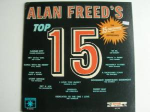 Cover - The Nutmegs: Alan Freed's Top 15
