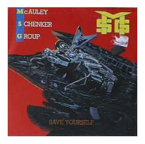 McAuley Schenker Group: Save Yourself - Cover