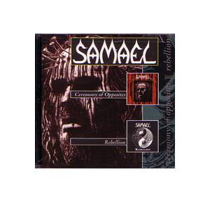 Samael: Ceremony Of Opposites / Rebellion - Cover