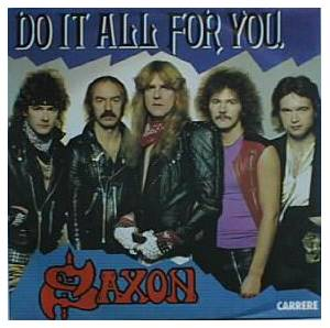 Saxon: Do It All For You - Cover