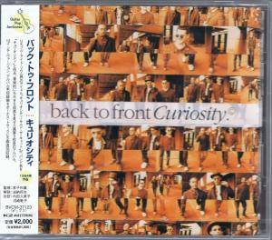 Cover - Curiosity: Back To Front