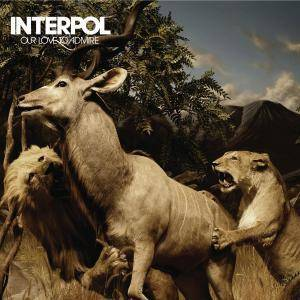 Interpol: Our Love To Admire - Cover