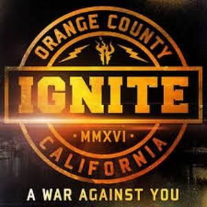 Ignite: War Against You, A - Cover