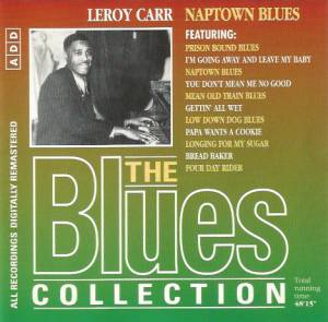 Cover - Leroy Carr: Naptown Blues (The Blues Collection # 86)