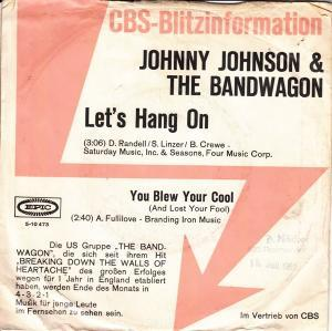 Johnny Johnson And The Bandwagon: Let's Hang On - Cover