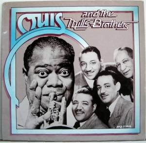 Louis Armstrong: Louis And The Mills Brothers - Cover