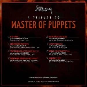 Metallica - A Tribute To Master Of Puppets (CD) - Bild 2