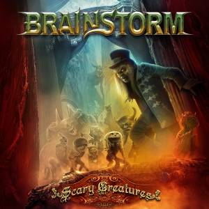 Brainstorm: Scary Creatures - Cover
