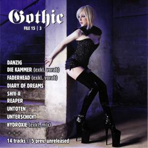 Cover - Kammer, Die: Gothic File 15|3