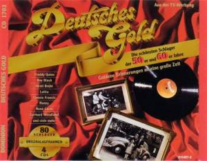 Cover - Caterina Valente, Silvio Francesco, Peter Alexander: Deutsches Gold