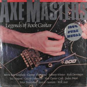 Cover - Ozzy Osbourne: Axe Masters: Legends Of Rock Guitar