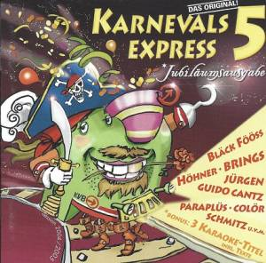 Cover - Labbese, Die: Karnevals Express 5