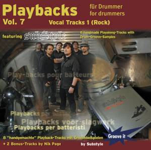 Cover - Substyle: Playbacks Für Drummer Vol7