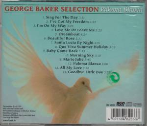 George Baker Selection: Paloma Blanca (CD) - Bild 2