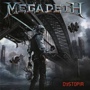 Megadeth: Dystopia - Cover