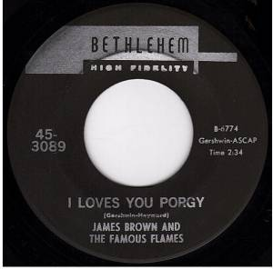 Cover - James Brown & The Famous Flames: I Loves You Porgy