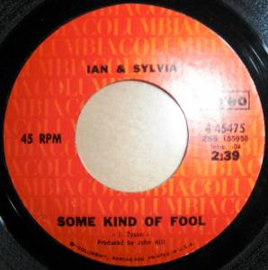Cover - Ian & Sylvia: Some Kind Of Fool