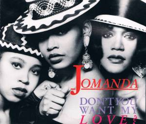 Cover - Jomanda: Don't You Want My Love?