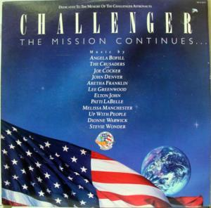 Challenger - The Mission Continues... - Cover