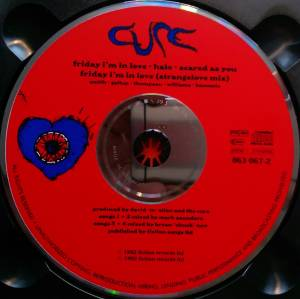 The Cure: Friday I'm In Love (Single-CD) - Bild 5