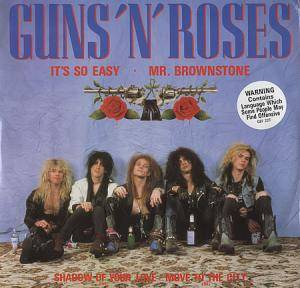 Guns N' Roses: It's So Easy - Cover