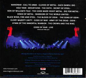 Manowar: Gods Of War Live (2-CD) - Bild 2