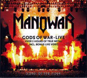Manowar: Gods Of War Live (2-CD) - Bild 1