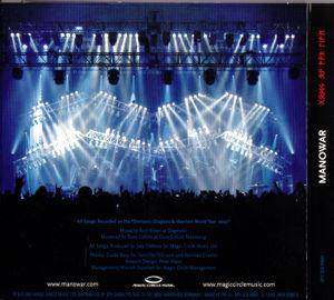 Manowar: Gods Of War Live (2-CD) - Bild 4