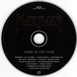 Manowar: Gods Of War Live (2-CD) - Bild 5