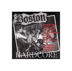 Cover - Wrecking Crew: Boston Hardcore