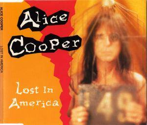 Alice Cooper: Lost In America - Cover