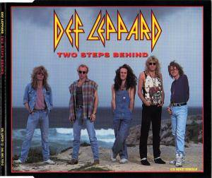 Def Leppard: Two Steps Behind - Cover