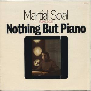 Cover - Martial Solal: Nothing But Piano