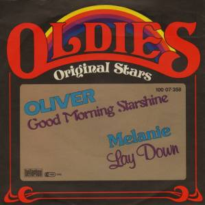 Cover - Oliver: Good Morning Starshine / Lay Down
