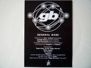 "General Base: Base Of Love (12"") - Bild 5"