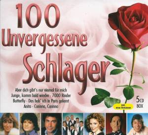 Cover - Stefan Peters: 100 Unvergessene Schlager