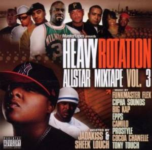 Cover - Tony Touch: Heavy Rotation Allstar Mixtape Vol. 3