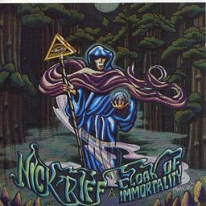 Nick Riff: Cloak Of Immortality - Cover