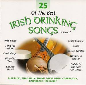 Cover - Barnbrack: 25 Of The Best Irish Drinking Songs Volume 2