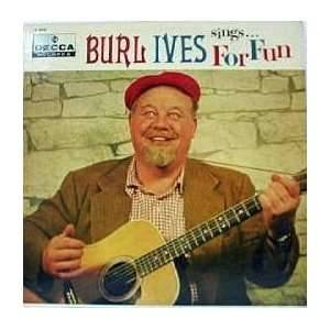 Cover - Burl Ives: Sings . . . For Fun