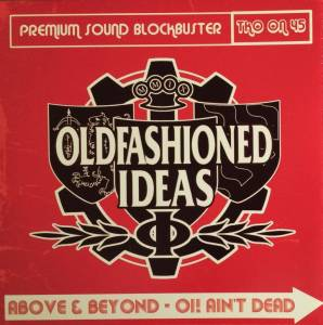 Cover - Oldfashioned Ideas: Split City Saints / Old Fashioned Ideas EP