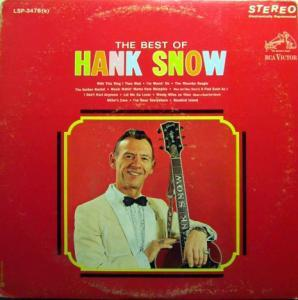 Hank Snow: Best Of Hank Snow, The - Cover