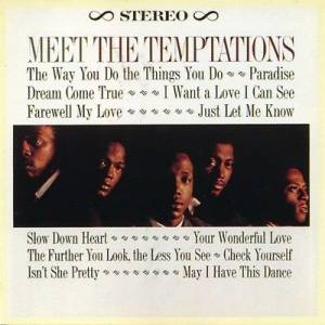 Cover - Temptations, The: Meet The Temptations